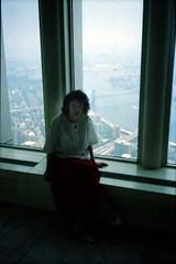New York World Trade Centre July 1987 002 Windows of the World 108 th floor Sally Anne