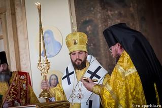 Литургия в Ильинском соборе 290