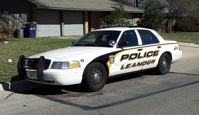 Leander, TX Police Ford Crown Victoria