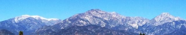 Mountains close-up