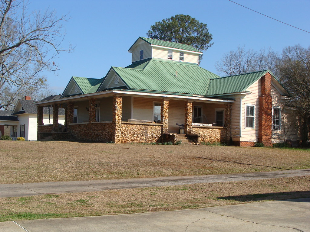 Old Home with New Metal Roof (Lincoln, Al.) | Lincoln, Al ...