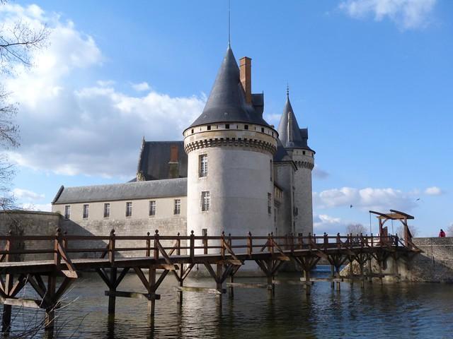 Castillo de Sully (Ruta de castillos del Loira en Francia)