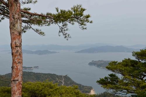 View from Mt Misen on Miyajima | by osiristhe