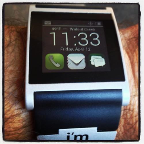 "Watches are now smart! ""I'm Watch"" #smartwatch #imsmart #imwatch"