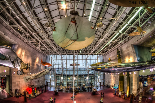 National Air and Space Museum - Handheld HDR | by m01229