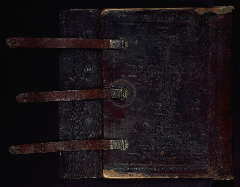 T'oros Roslin Gospels, Binding, Walters Manuscript W.539, Lower board outside