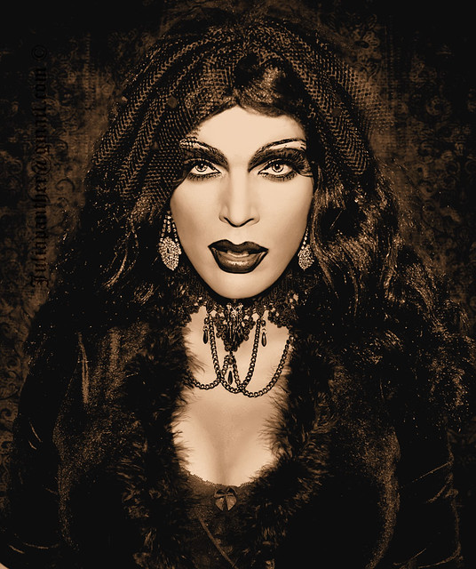 Gothic queen of dark desires