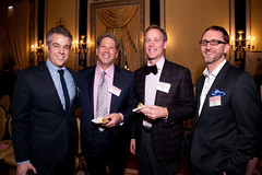 Mon, 2013-03-25 18:42 - Nathan Allen with board member David Shapiro, Mark Losher, & board member  David Schmitz. Photo by Johnny Knight