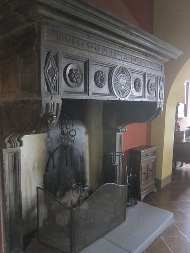 Old fireplace | by jetsetwhitetrash