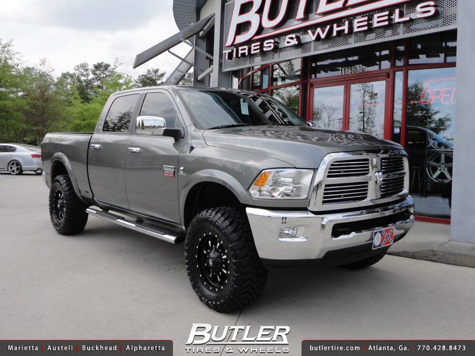 Dodge Ram 2500 HD with 18in Fuel Krank Wheels | Additional P