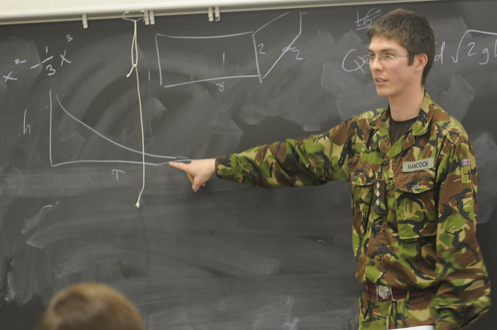 8d7eba56 ... Baltimore District employee and Royal Engineer talk to high schools  students   by U.S. Army Corps