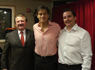 Dr. Stanislaw Burzynski, Dr. Mehmet Oz, and Eric Merola - New York City | by Eric Merola