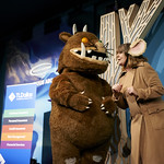 Julia Donaldson with The Gruffalo! | Festival favourite Julia Donaldson back with more singing, dancing and rhyming fun © Helen Jones