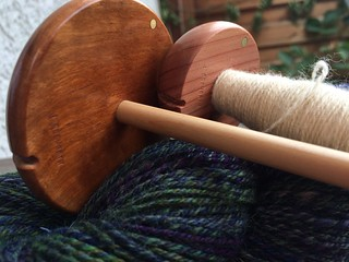 Bosworth Spindles / Mini Red Cedar / Skinny Maxi Cherry - both with birch shafts