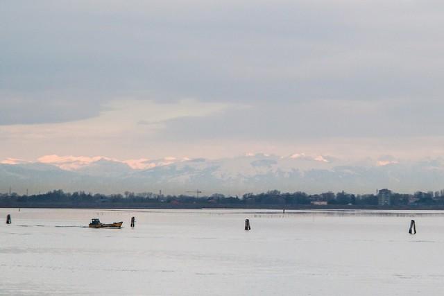 Venice in Winter.