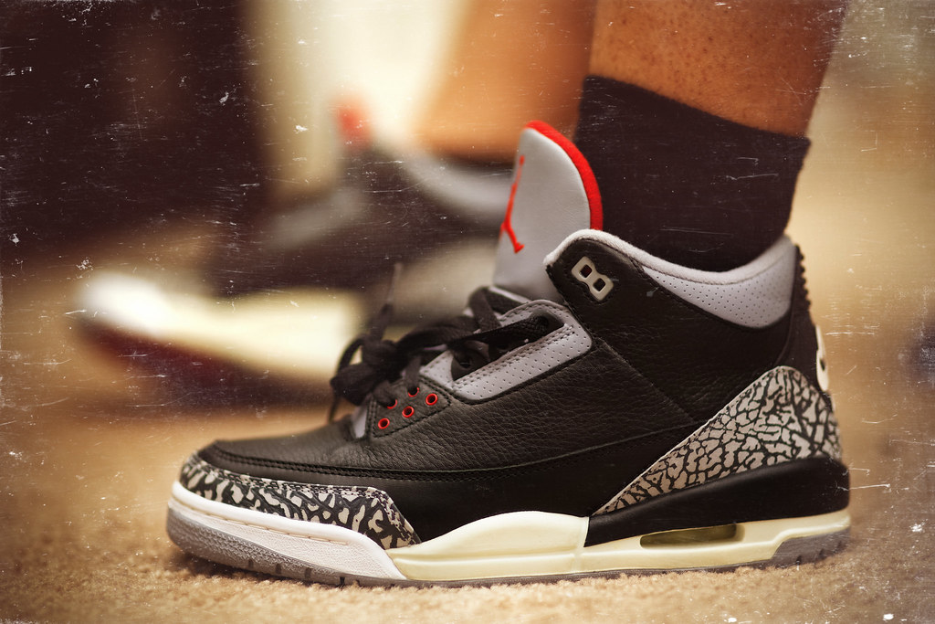 separation shoes 03501 7fd0e Air Jordan 3 Retro: Black Cement (2001) | KHD FILM | Flickr