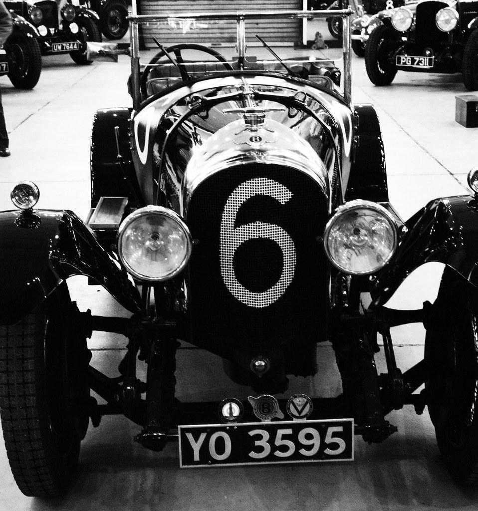 A Bentley Team Car, Raced At Brooklands