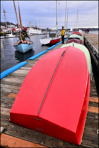 Red boat | by @GilAegerter / klahini.com