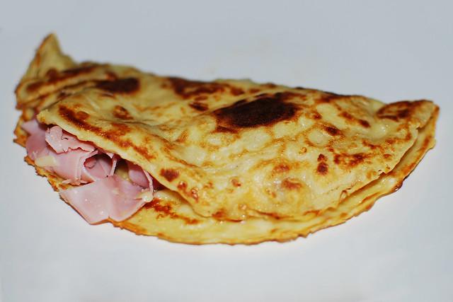 Ham n Cheese Pancake
