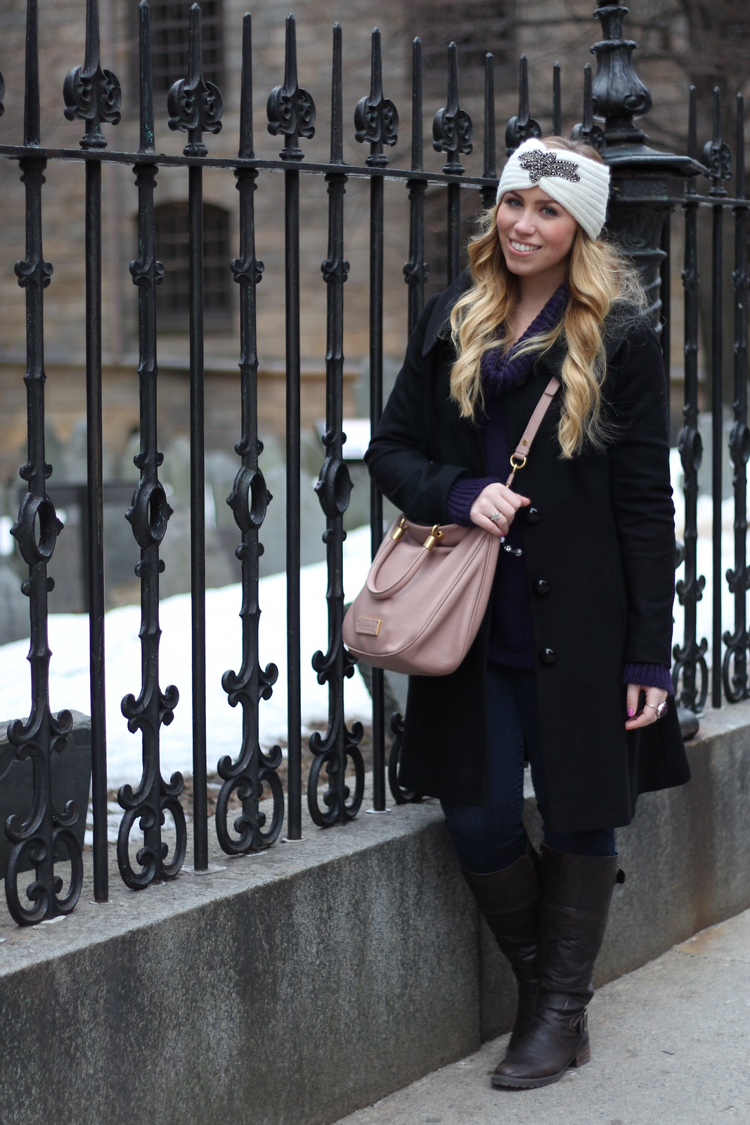 Boston Travel Outfit | Winter 2013 | A Look Back at 10 Years of Blogging Living After Midnite Blogger Jackie Giardina
