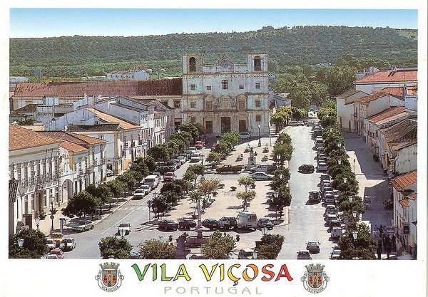 Vila Viçosa en carte postale