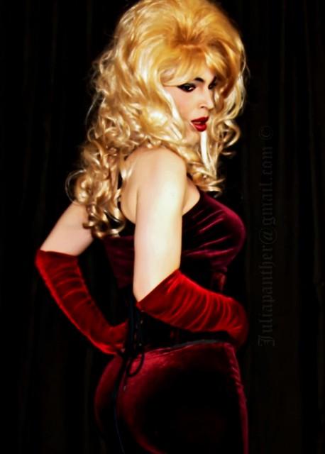 Sensual red velvet desires