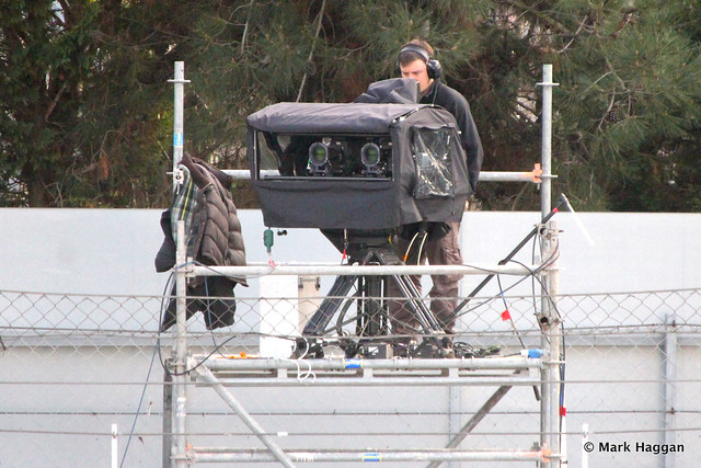 Sky TV's 3D cameras at Formula One Winter Testing, 3rd March 2013
