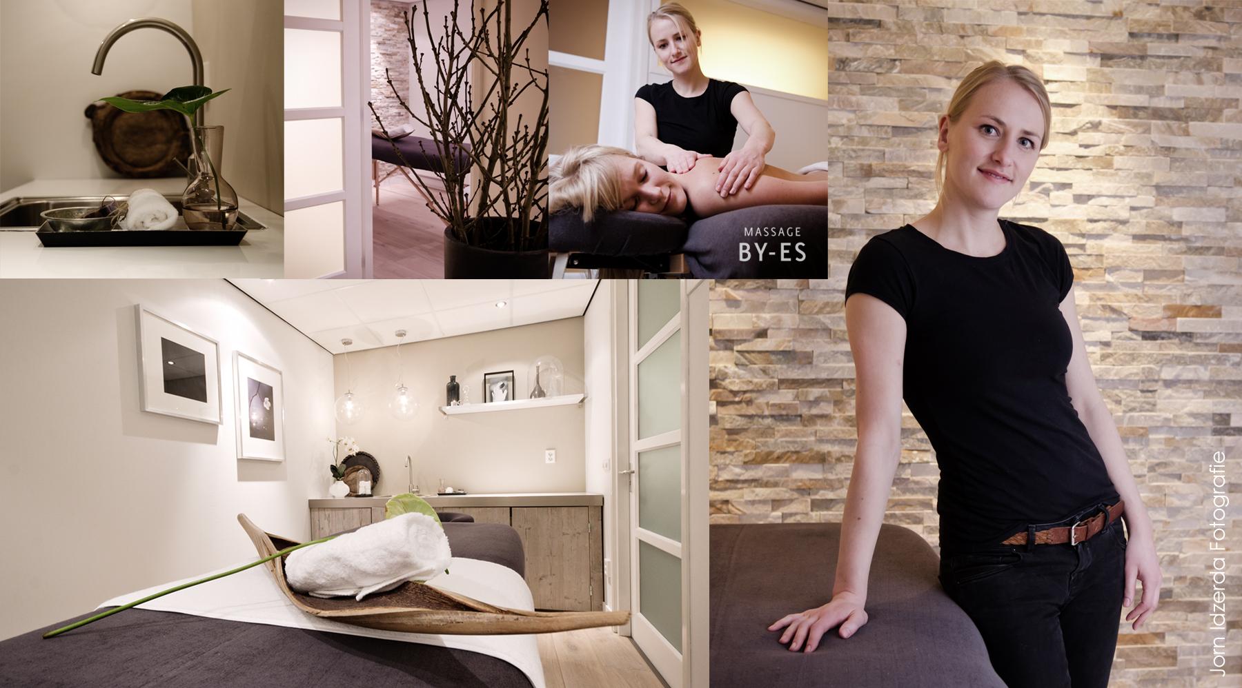 Bedrijfsfotografie Massage By-Es