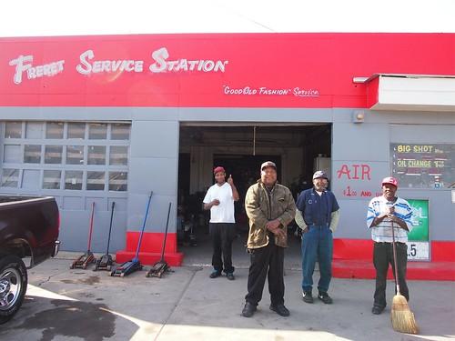Freret Service Station.  Photo by Melanie Merz.