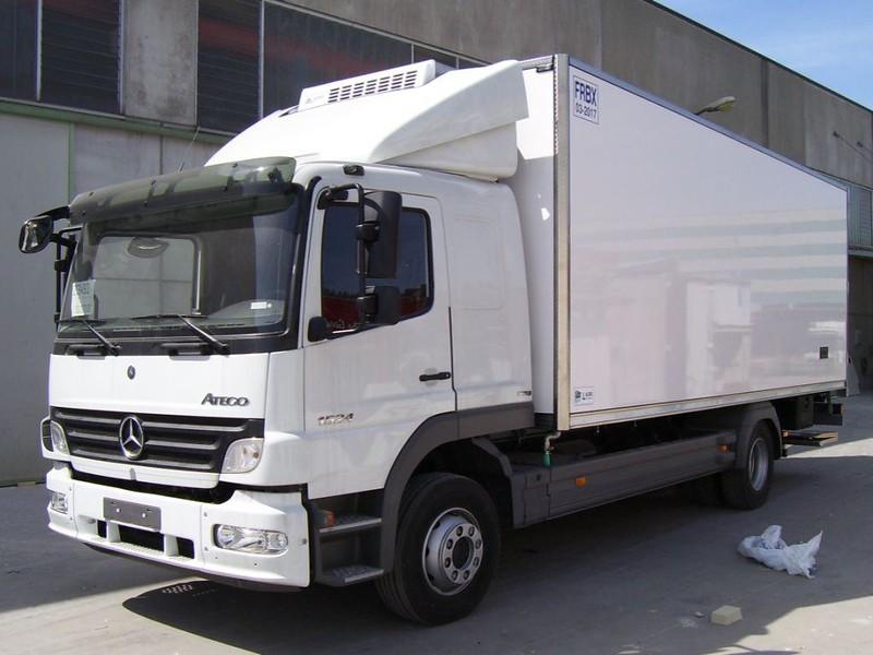 Хладилна надстройка за Mercedes-Benz