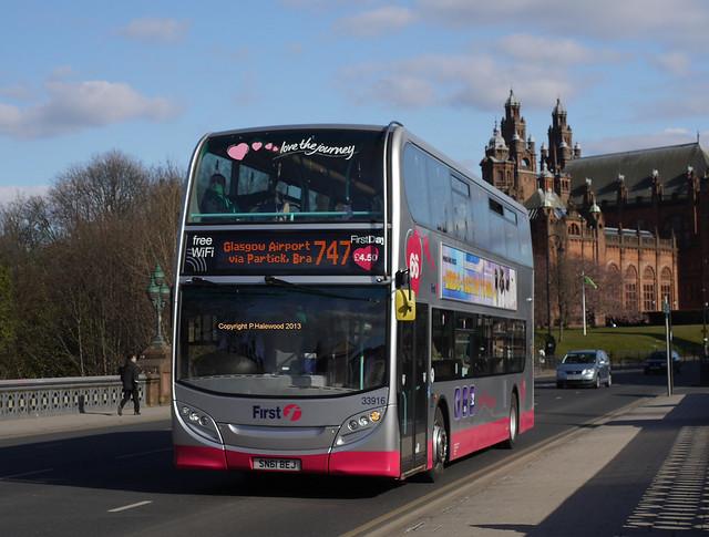 First Glasgow 33916 (SN61BEJ)