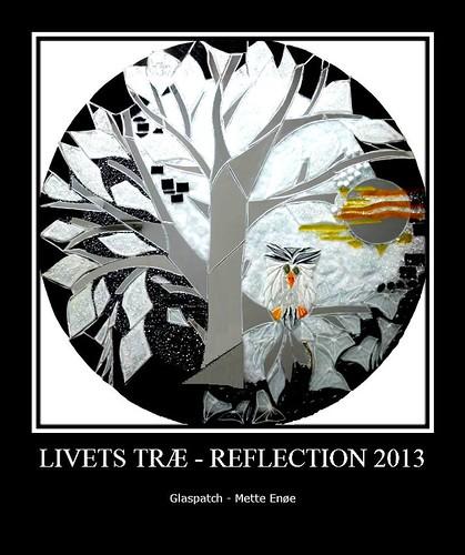 Livets Træ Reflection | by Glaspatch