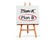 Art Easel Plan A Plan B | by One Way Stock
