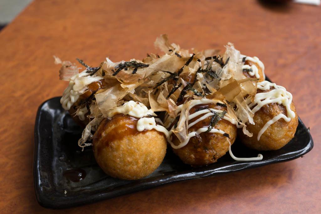 Takoyaki - what to eat in tokyo?