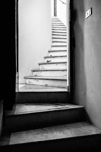 Rome: staircase
