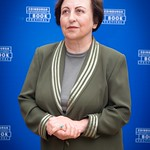 Shirin Ebadi   The first Muslim woman and first Iranian to win a Nobel Peace Prize during her press photocall © Alan McCredie