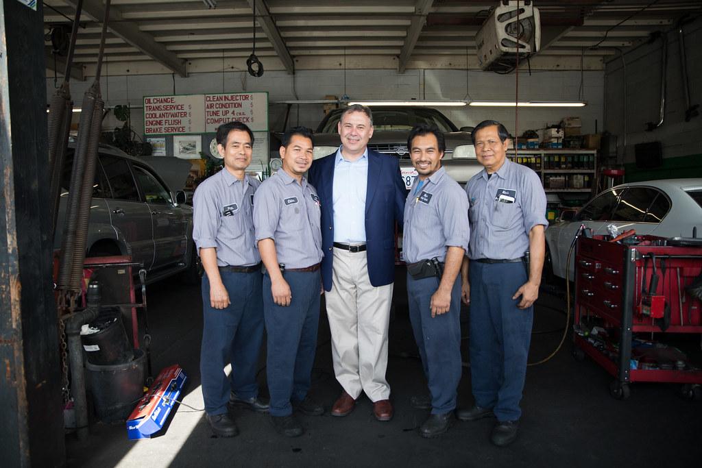 Ambassador Heidt S Visit To Long Beach Ambassador William Flickr