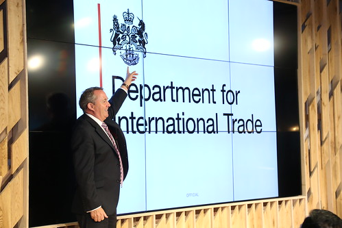 Dr Liam Fox in Mumbai 30 August | by UK in India