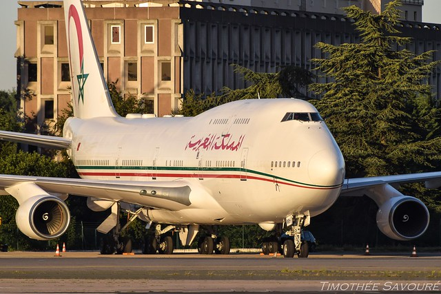 [CDG] Morocco Government Boeing 747-400