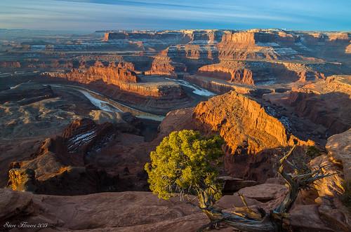 sunrise utah moab deadhorsestatepark nikond7000 steveflowersphotographycom photoclamtripodandbh nikon1024mmf3545gedafsdxlens