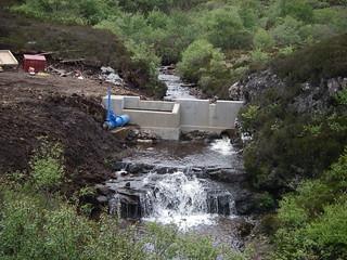 Eigg Electric hydro dam | by isleofeigg