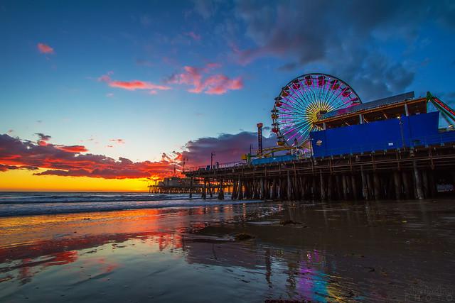 Sunset Santa M