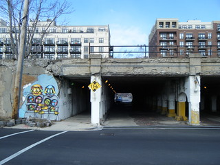 Tunnel under railroad out of Pilsen | by Preetha & James