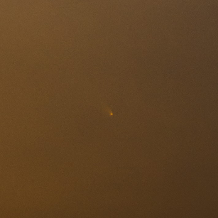パンスターズ彗星(2013/3/11 18:26:48)