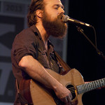Sat, 16/03/2013 - 4:00am - Iron & Wine at the Public Radio Rocks Day Stage, SXSW, 3-15-2013. Photo by Gus Philippas