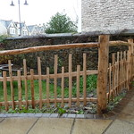 Rustic Chestnut fence
