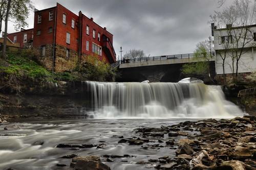 longexposure waterfall nikon hdr chagrinfalls chagrinriver photomatix tonemapped ohiowaterfall nikond90 neuraldensityfilter