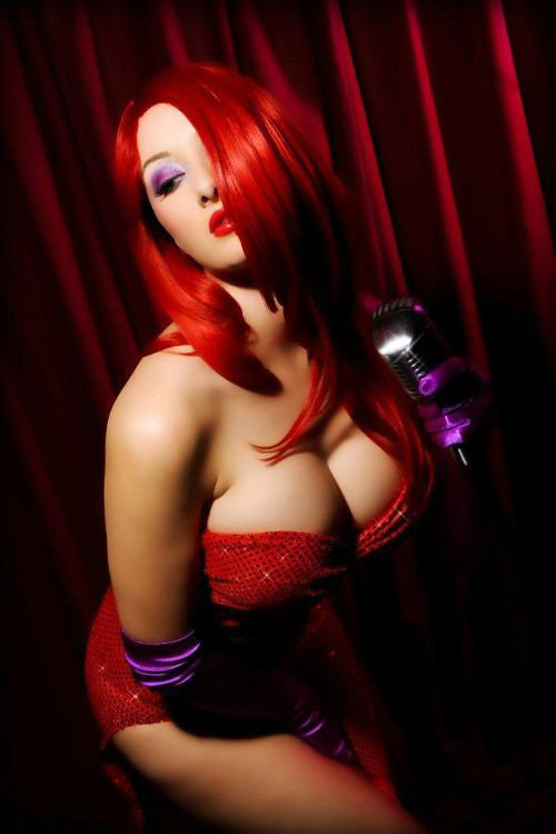 ... Sexy Jessica Rabbit Cosplay | by Lulu1355