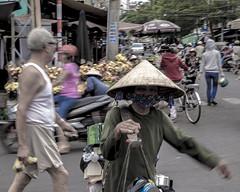 Saigon. Au marché