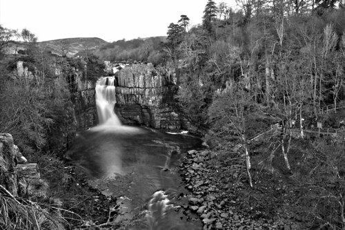 longexposure river waterfall slowshutter tees middleton highforce teesdale